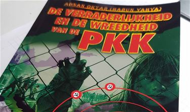 Anti-PKK-boek in brievenbussen - Beringen