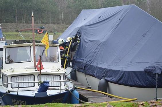 Brand op boot vermeden - Lommel