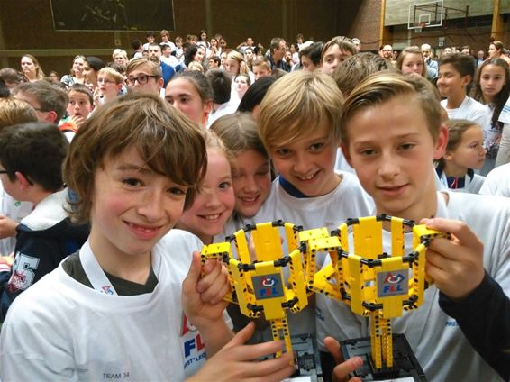 De Step Beringen naar finale First LEGO League - Beringen