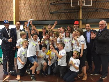 Freinetschool Beringen wint First Lego League - Beringen