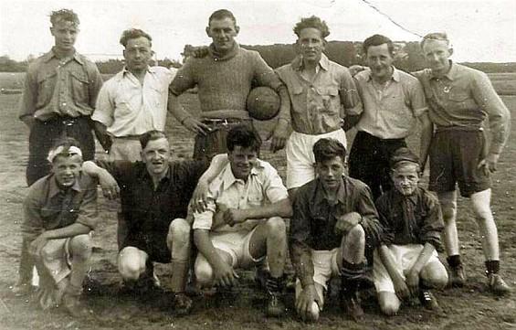 Neerpelt herinneringen de bjb voetbalploeg uit 1953 internetgazet