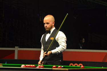 Luca Brecel door in European Masters - Lommel