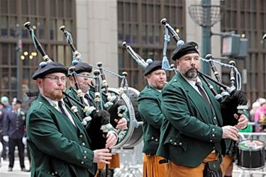 St. Patrick's day parade in New York - Lommel