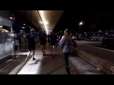 Timelapse Industrial Night Run - Beringen